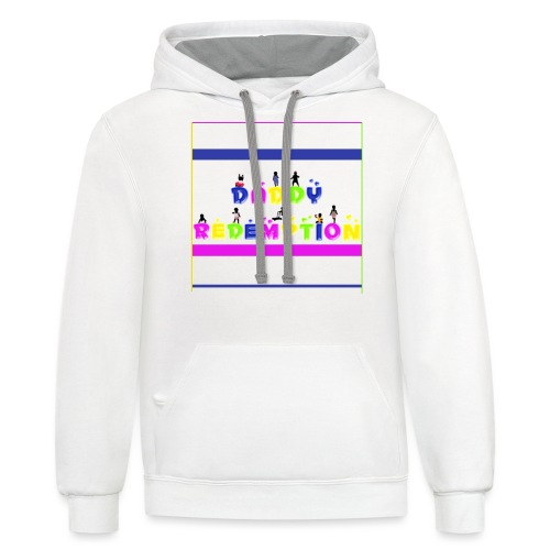 DADDY REDEMPTION T SHIRT TEMPLATE - Unisex Contrast Hoodie