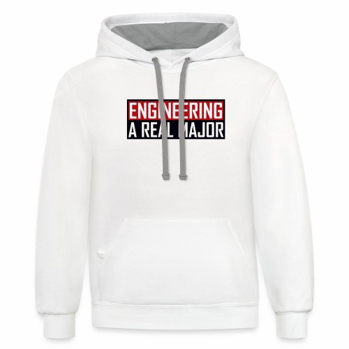 Engineering T-Shirts and Apparel - Contrast Hoodie