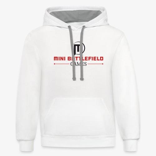 Mini Battlefield Games Logo - Contrast Hoodie