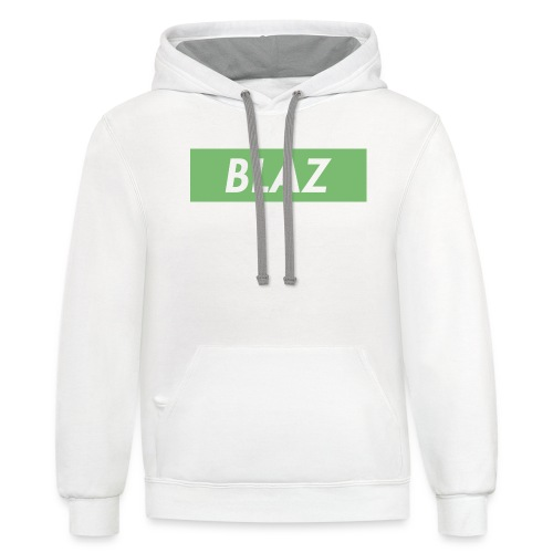 BLAZ LOGO - Contrast Hoodie