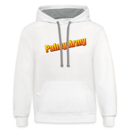 Palmy Army - Unisex Contrast Hoodie