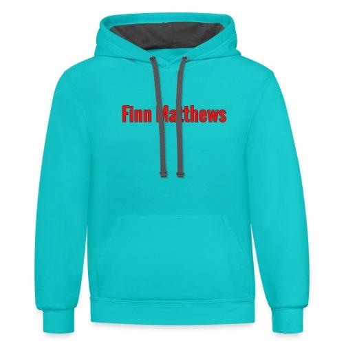 FM Logo - Contrast Hoodie