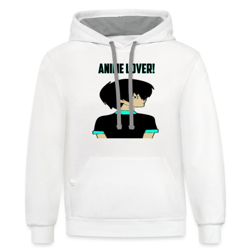 anime lover - Contrast Hoodie