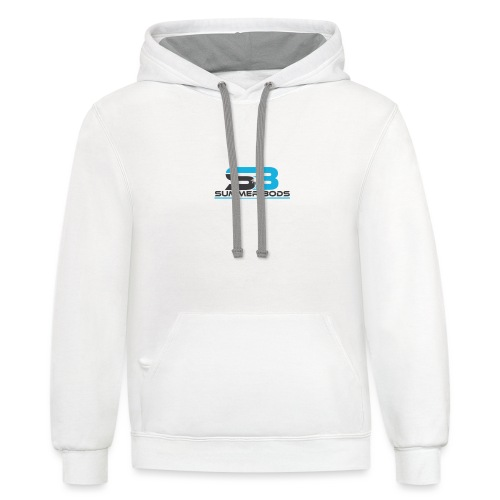 Summer Bods Apparel - First Edition - Unisex Contrast Hoodie