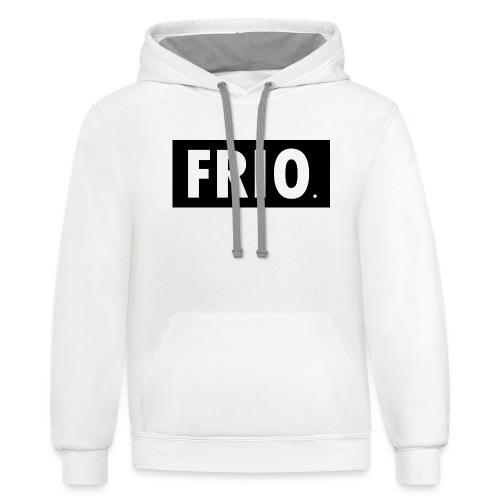 Frio shirt logo - Contrast Hoodie