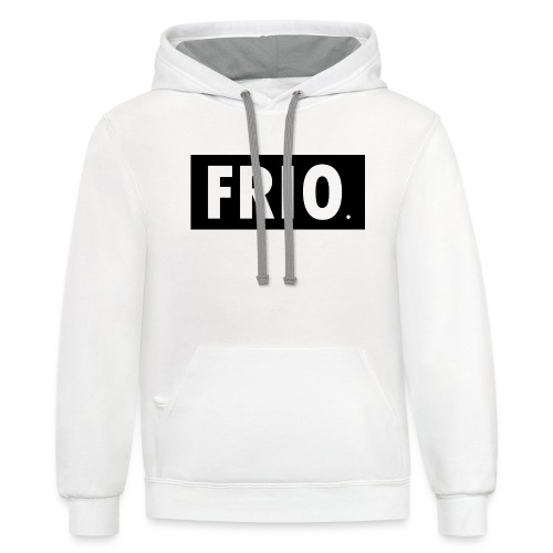 Frio shirt logo - Unisex Contrast Hoodie
