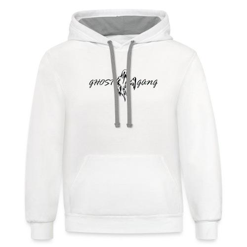 GhostGang Logo - Contrast Hoodie