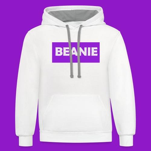 BEANIE - Contrast Hoodie