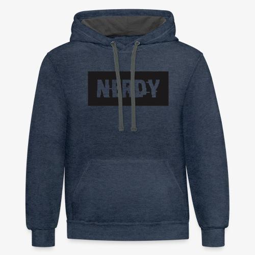 NerdyMerch - Contrast Hoodie