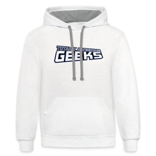 Logo For Totally Awesome Geeks - Contrast Hoodie