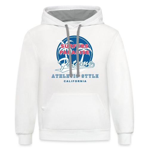 Surfers Paradise Athletic Blue - Contrast Hoodie