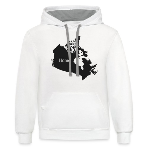 Canada Home - Contrast Hoodie