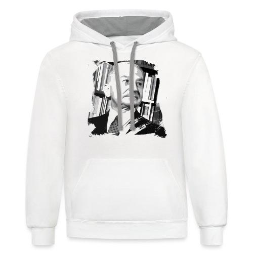 Ludwig von Mises Libertarian - Contrast Hoodie