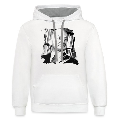Ludwig von Mises Libertarian - Unisex Contrast Hoodie