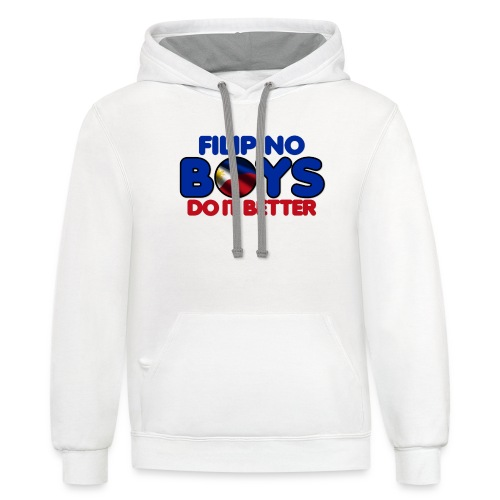2020 Boys Do It Better 05 Filipino - Unisex Contrast Hoodie