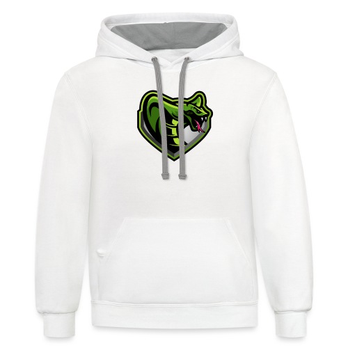 Venomous Logo Only - Contrast Hoodie