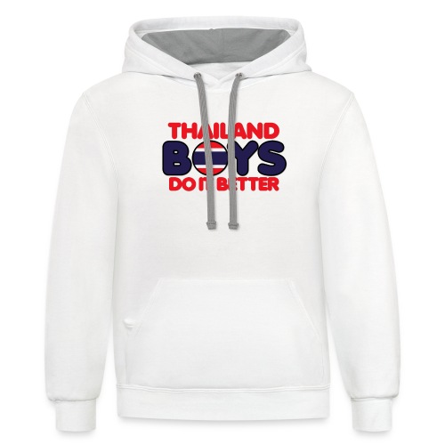 2020 Boys Do It Better 06 Thailand - Contrast Hoodie