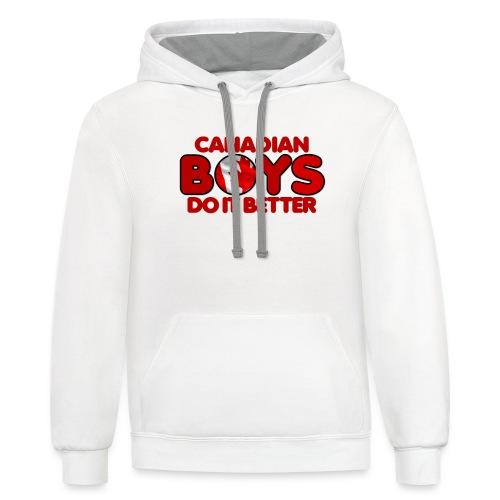 2020 Boys Do It Better 04 Canadian - Contrast Hoodie
