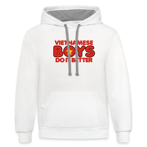 2020 Boys Do It Better 07 Vietnam - Contrast Hoodie
