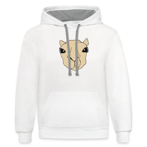 Waxy Camel - Unisex Contrast Hoodie