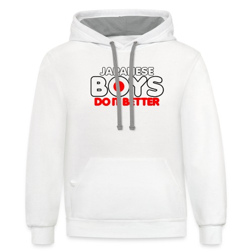 2020 Boys Do It Better 08 Japanese - Contrast Hoodie