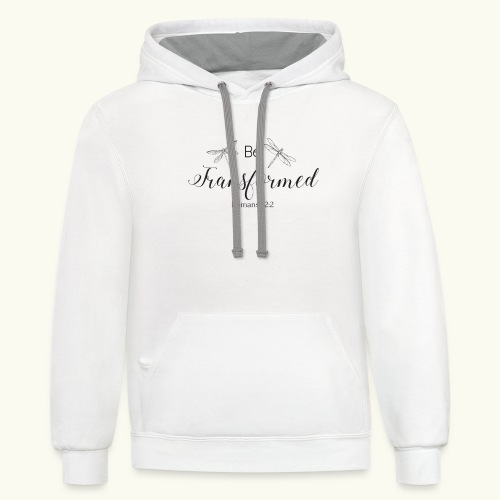 Be Transformed Shop - Contrast Hoodie