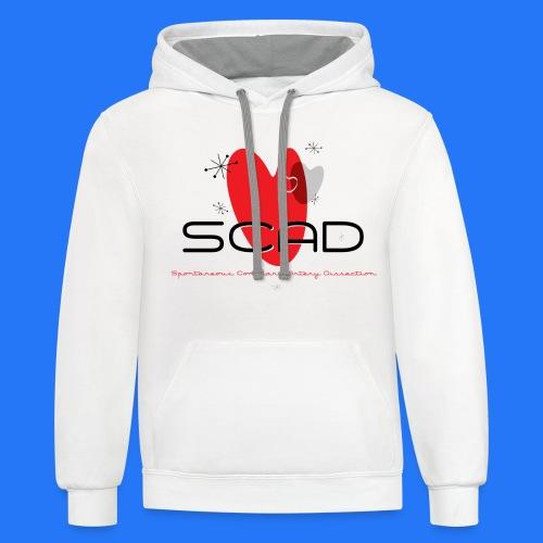 SCAD Design MidMod2 - Contrast Hoodie