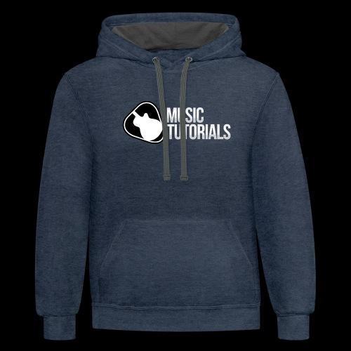 Music Tutorials Logo - Contrast Hoodie