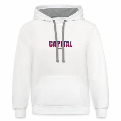Capital - Unisex Contrast Hoodie