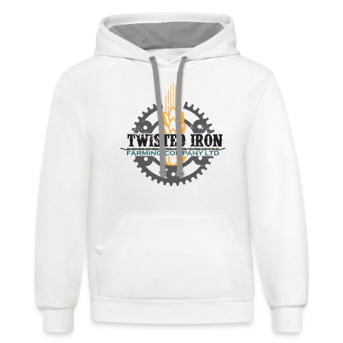 Twisted Iron Farming Co - Unisex Contrast Hoodie