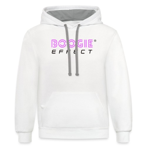 Official Logo For Light Background - Contrast Hoodie