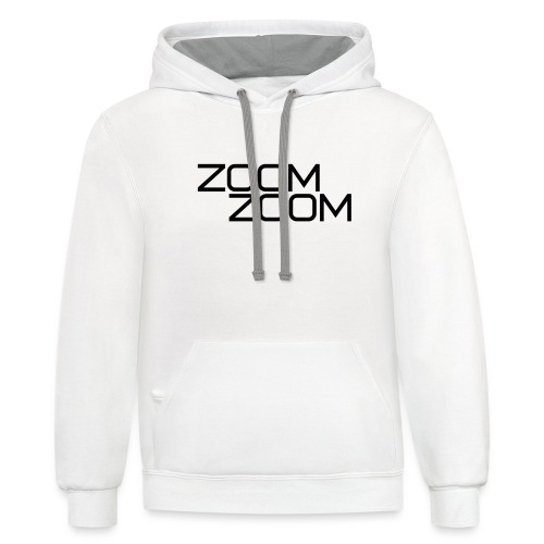 ZoomZoom! - Contrast Hoodie