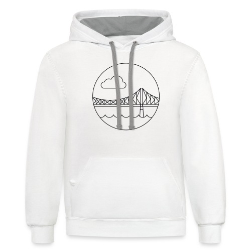 The Jacques - Unisex Contrast Hoodie