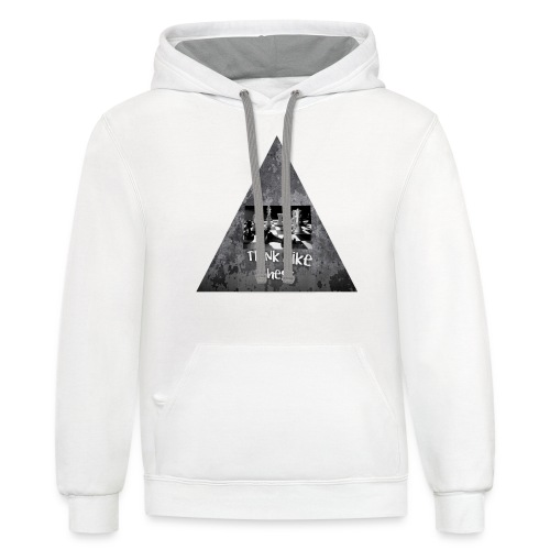 Think Like Chess Logo - Contrast Hoodie