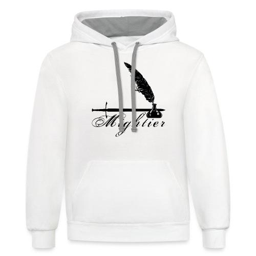 mightier - Contrast Hoodie