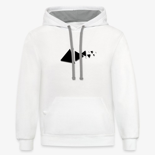 Different Angle - Unisex Contrast Hoodie
