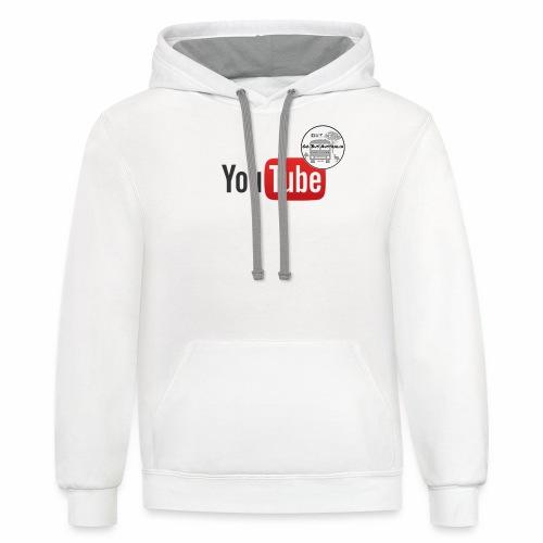 Go Bus Australia - YouTube Range - Contrast Hoodie