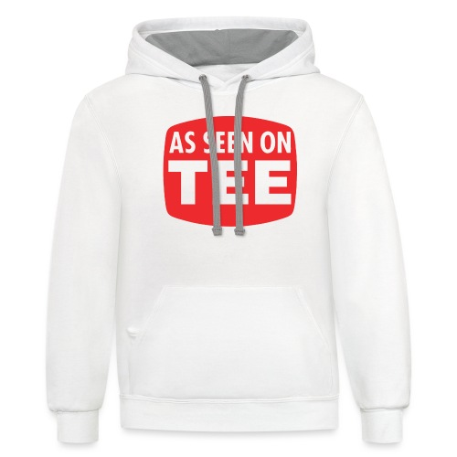 As Seen On Tee - Unisex Contrast Hoodie
