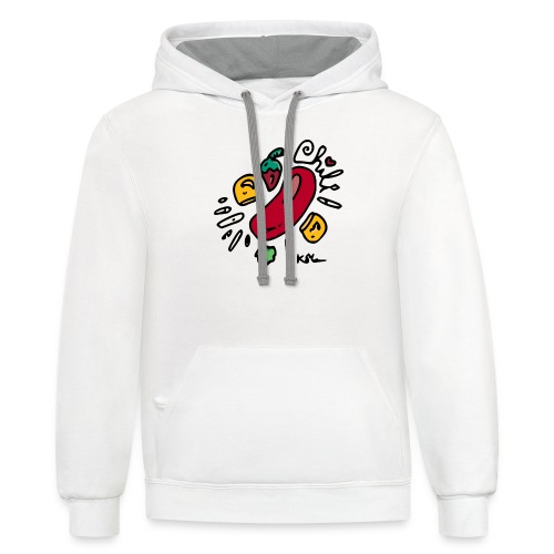 Chili - Unisex Contrast Hoodie