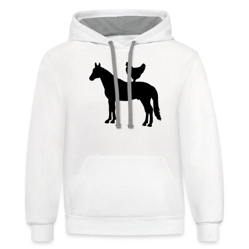 horsechicken - Contrast Hoodie