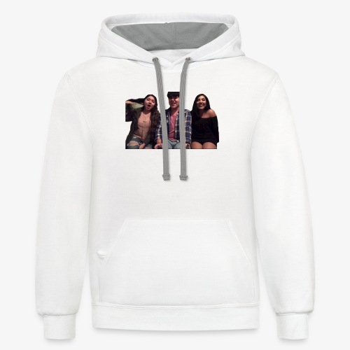 Fido, Cindy, and Tania - Contrast Hoodie