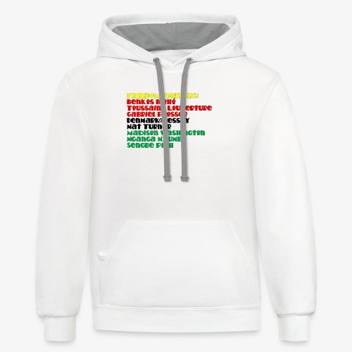 Freedom Fighters - Unisex Contrast Hoodie