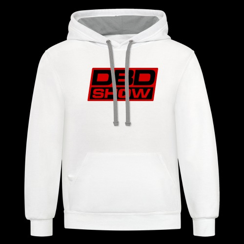 DBD Show Official Logo - Contrast Hoodie
