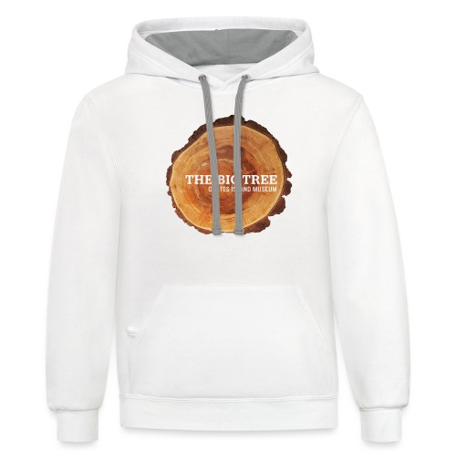 The Big Tree - Contrast Hoodie