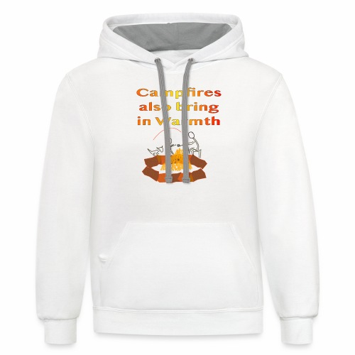 Around the Campfire - Contrast Hoodie