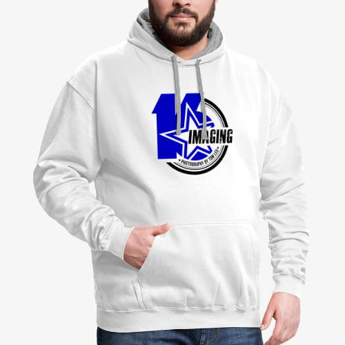 16 Badge Color - Contrast Hoodie
