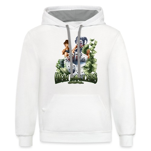 High Roller by RollinLow - Contrast Hoodie