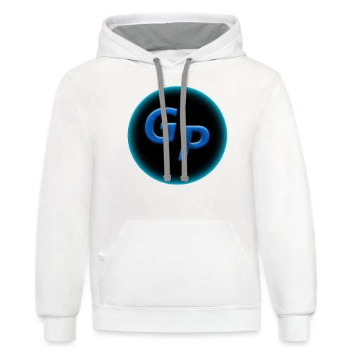 Large Logo Without Panther - Contrast Hoodie