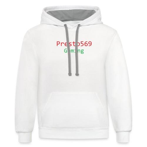 Presto569 Gaming - Contrast Hoodie