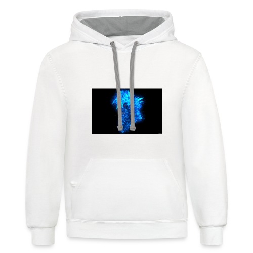 The Power Of Anime - Unisex Contrast Hoodie
